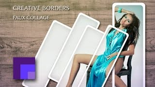 Create a Photographic Jigsaw Template | Creative Borders in Photoshop view on youtube.com tube online.