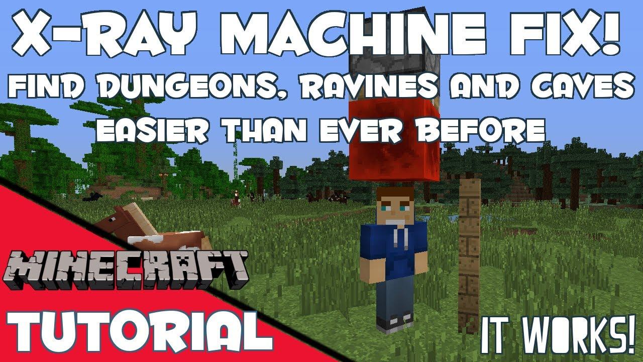minecraft xray machine