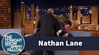 Jimmy Fallon Beats the Crap out of Nathan Lane