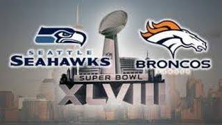 Madden NFL 25 Super Bowl XLVIII 2014 Seahawks Vs