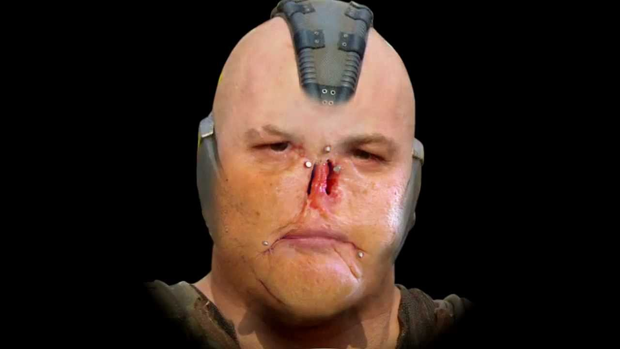 what does bane look like without the mask youtube