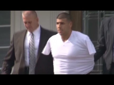 Aaron Hernandez taken to hospital
