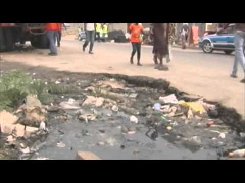 Pollution in Congo's Pointe Noire