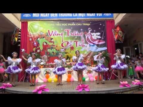 Trường tiểu học Phan Chu Trinh vui Trung thu
