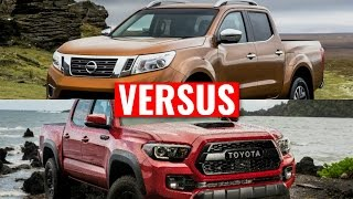 Nissan NP300 Navara VS Toyota Hilux| Visual Comparison