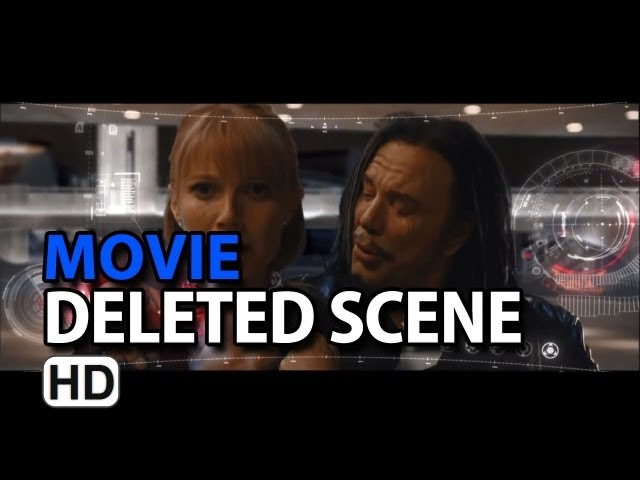 "Iron Man 2 (2010) Deleted Scene ""Whiplash Attacks Pepper At The Expo"""