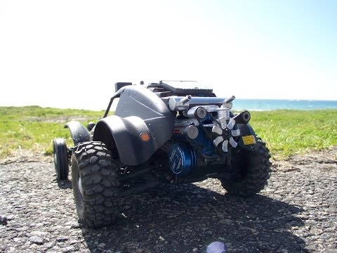 RC V8 Holiday buggy with attitude