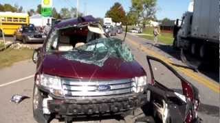Trailer Hitch Installation - 2008 Ford Taurus X - etrailer.com videos