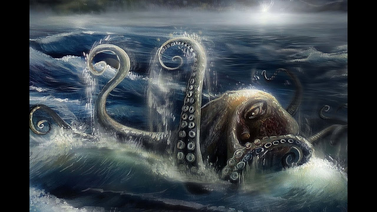 Giant Octopus Attacks - YouTube