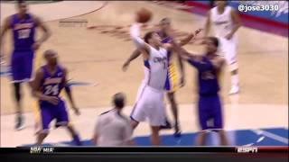 Blake Griffin Poster Dunk On Pau Gasol Lakers @ Clippers