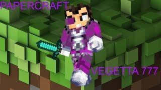 Vegetta777 Minecraft Papercraft Skin Vegetta777