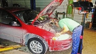 Replacing Car Battery On A Chrysler Intrepid 2000