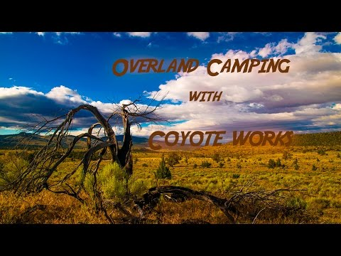 Overland Desert Camp with Coyote Works
