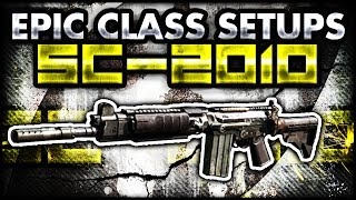CoD Ghosts: SC-2010 EPIC CLASS SETUP! (Call Of Duty