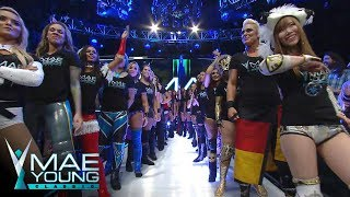 Mae Young Classic Parade of Champions: July 13, 2017