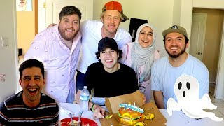 SURPRISING BEST FRIEND FOR HIS BIRTHDAY!! (ghosts)