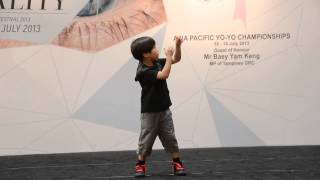 Anak umur 6 taun jago main yoyo