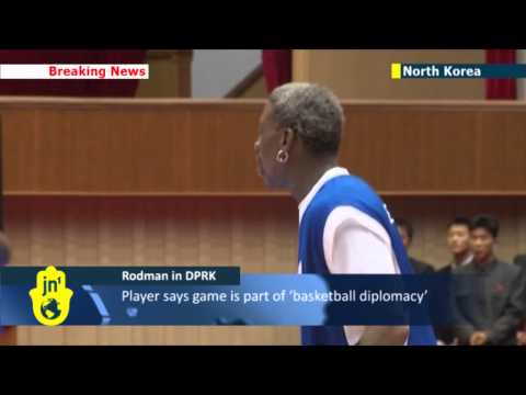 Rodman in Pyongyang: former NBA star sings Happy Birthday to Kim Jong-un