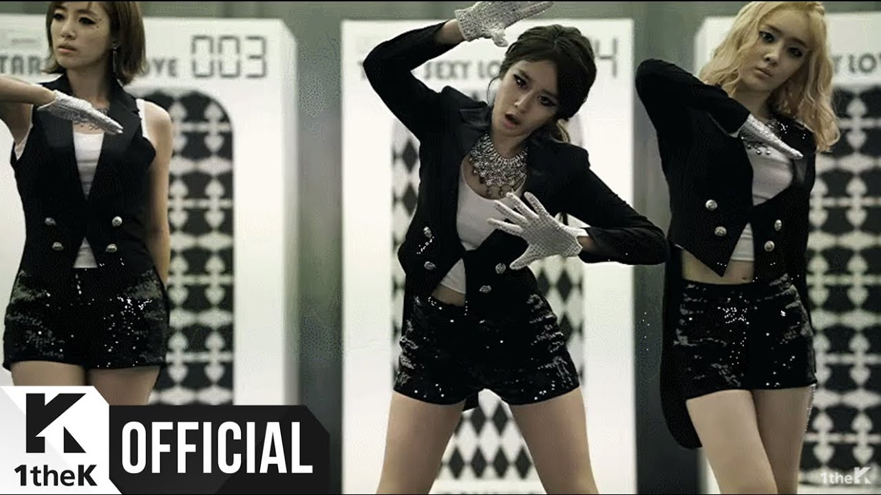 T-ARA(???) _ Sexy Love (Dance Ver. MV)