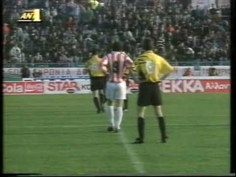 olympiakos vs aek 3-0 1993-94