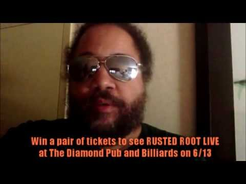 Rusted Root Ticket Giveaway - The Diamond Pub and Billiards