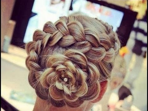 Recogido En Flor | Dutch Flower Braid | Коса Цветок | VIriYue
