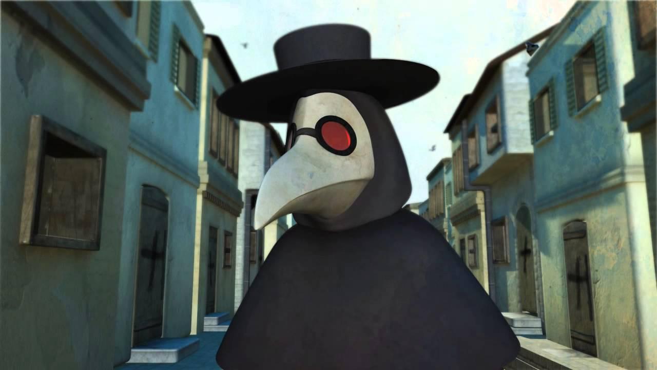 memento mori - plague doctor animation wip