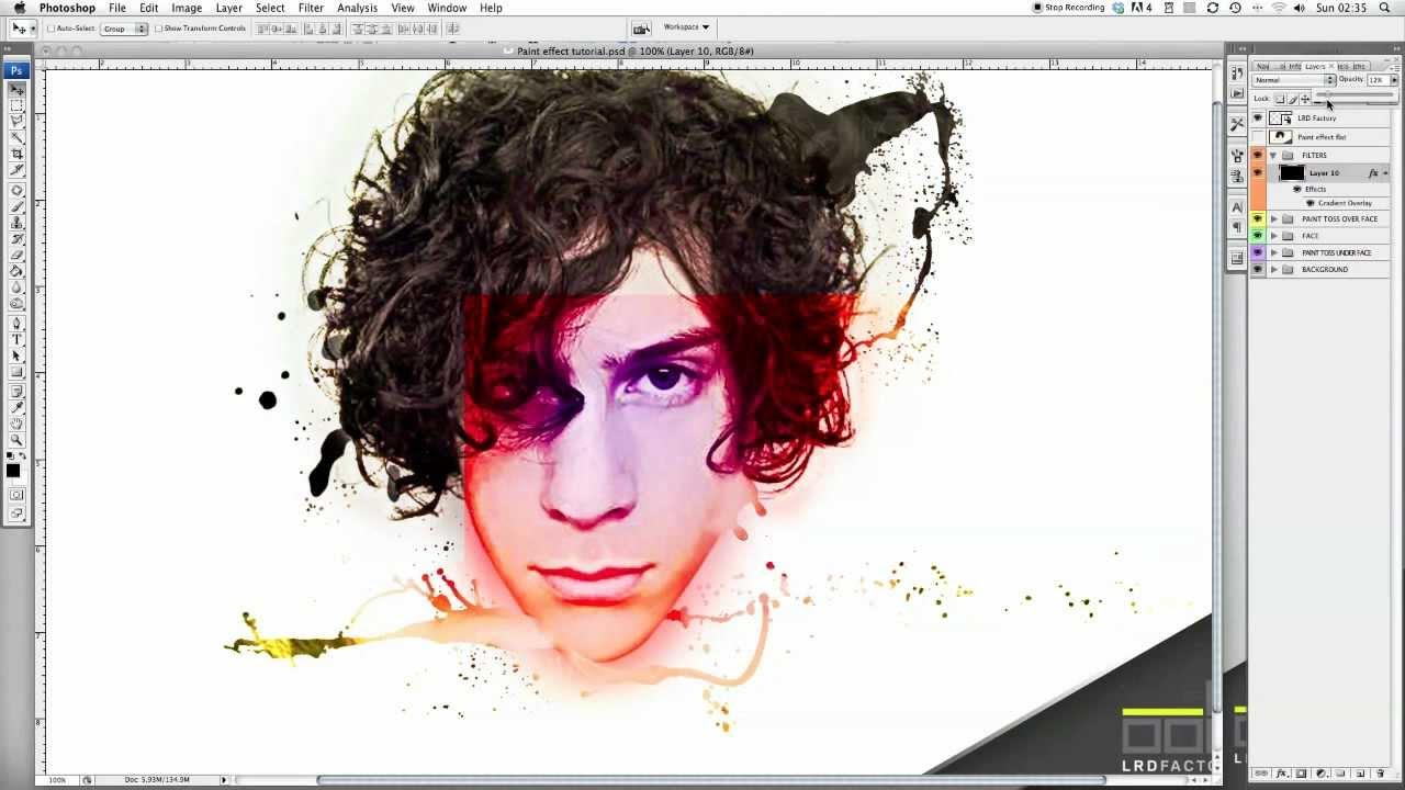 Как сделать на фото эффект рисования