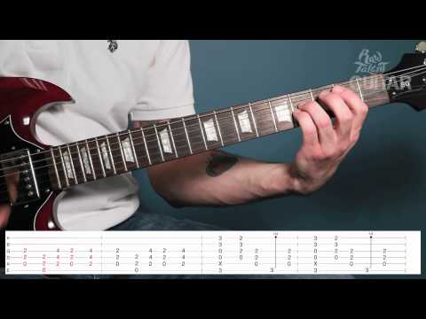 Learn How To Play Back In Black by AC/DC on Guitar (video lesson)