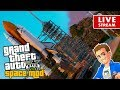 GTA 5 Space Mod Space Shuttle Discovery Launch to the Moon Mars Venus Grand Theft Space Mod