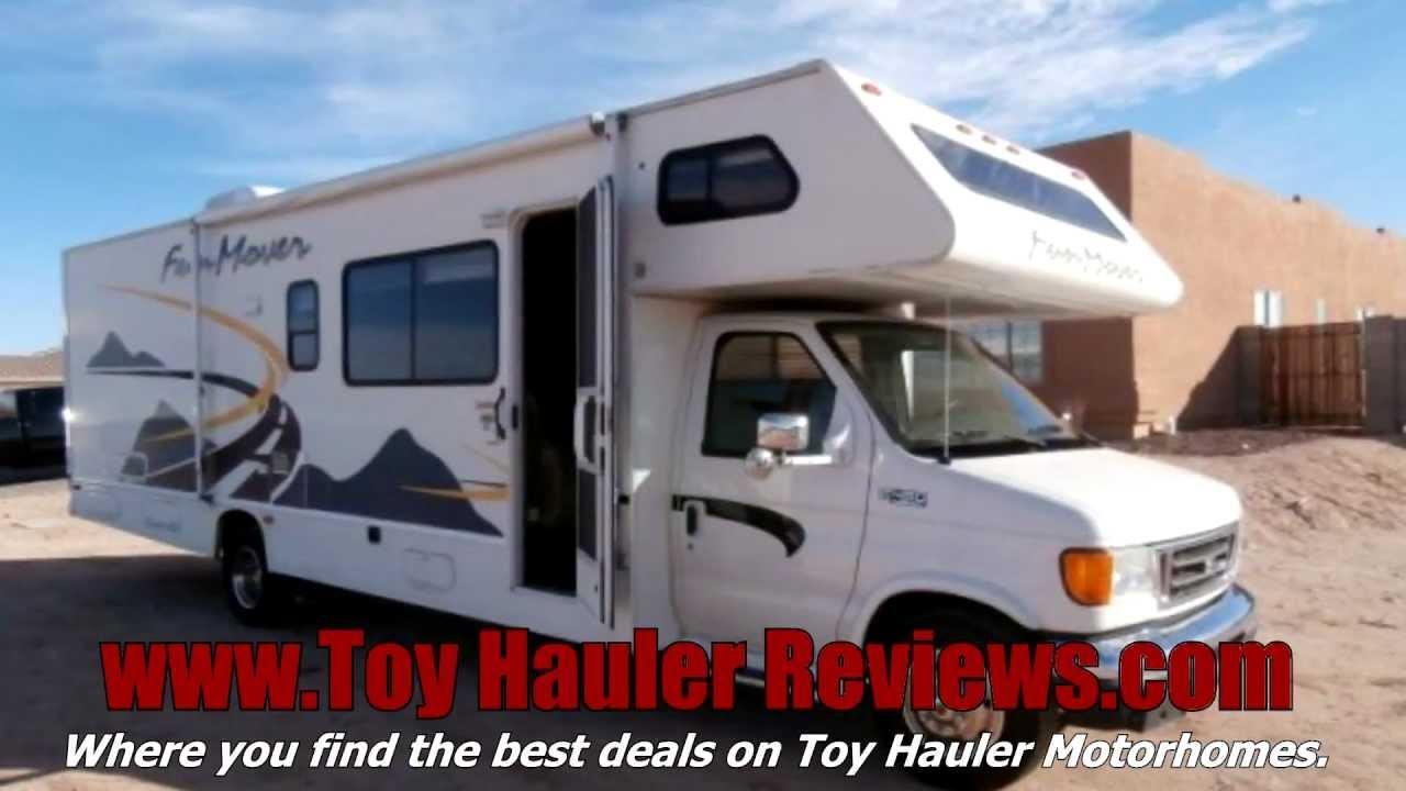 25 Simple Motorhome Toy Haulers