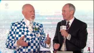 WJC: Don Cherry (high Decibel Sport Coat) Disses U.S.'s Lack Of Class - @ 4:00 Minute Mark (video)