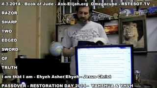 Jude - Passover 4-3-2014 - Ask Elijah - Omegacube - RSTESOT TV