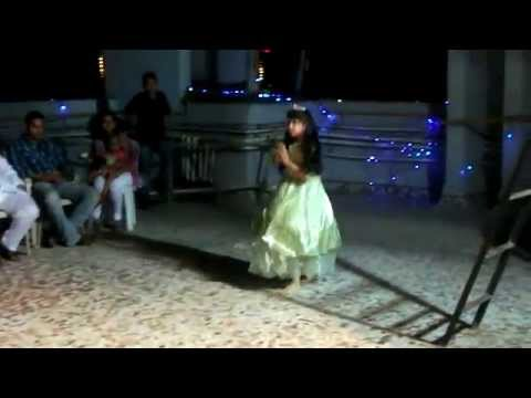 Divya's performance on Hawa hawai song in Poorti Vihar Ambedkar Jayanti 2014