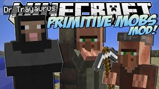 Minecraft | PRIMITIVE MOBS MOD! (SheepMen, Smart Villagers & More!) | Mod Showcase
