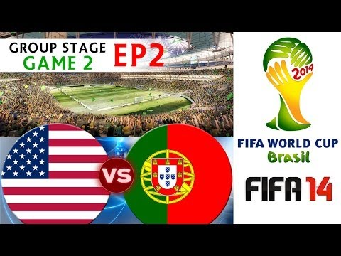 [TTB] 2014 FIFA World Cup Brazil - USA Vs Portugal - Group Stage Game 2 - EP2