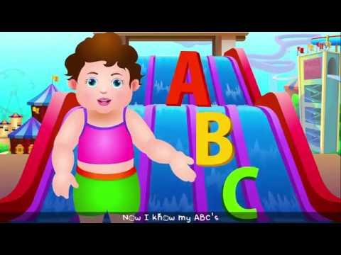 Chuchu TV ABCD Song in Alphabet Water Park Phonics Songs  Nursery Rhymes
