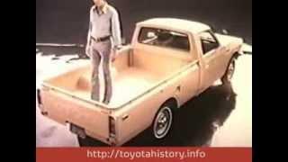 Тойота Хайлюкс 1974 TV ретро реклама\ Toyota Hilux retro ad