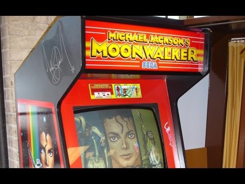 Arcade Game Showcase 006 - Michael Jackson's Moonwalker