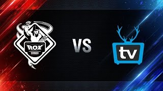WePlay vs TORNADO.ROX REBORN - day 4 week 8 Season I Gold Series WGL RU 2016/17
