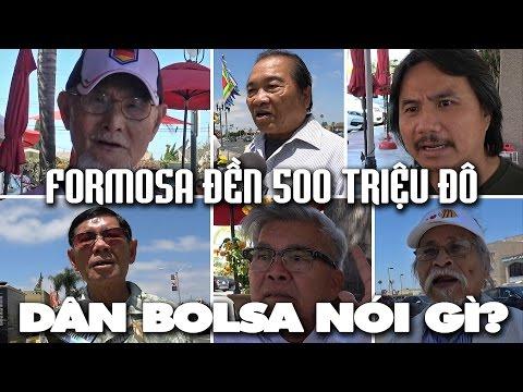Dân Bolsa nói gì vụ Formosa nhận bồi thường 500 triệu đô?