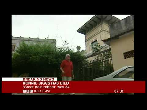 BBC Breakfast - The Death of Ronnie Biggs: 18th December 2013