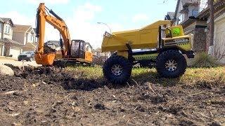 RC ADVENTURES Earth Digger 4200XL Excavator, RC Tonka