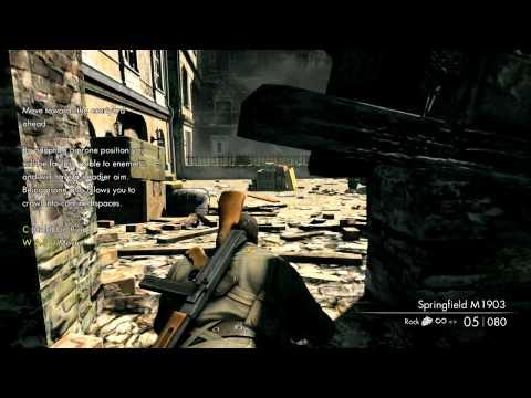 Смотрим на Sniper Elite V2 глазами нуба