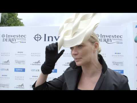 Jodie Kidd - Official Face of the Investec Derby