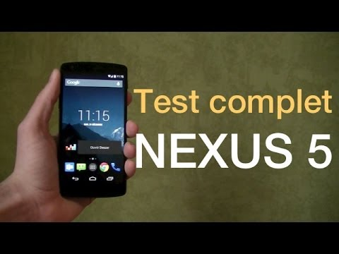 Le test complet du NEXUS 5 | Design, performance, qualité photo et vidéo.