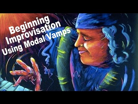 Beginning Improvisation using Modal Vamps w/Dave Frank