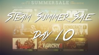 Steam Summer Sale 2014 - Day 10 ( Portal 2, Garry's Mod, Football Manager 2014 and more)
