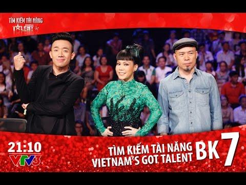 [FULL HD] Vietnam's Got Talent 2016 - BÁN KẾT 7 - TẬP 15 (22/04/2016)