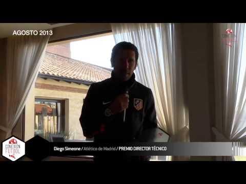 PREMIO DIRECTOR TÉCNICO - CONEXIÓN FÚTBOL 2013 - DIEGO PABLO SIMEONE (ATLÉTICO DE MADRID, ESPAÑA)